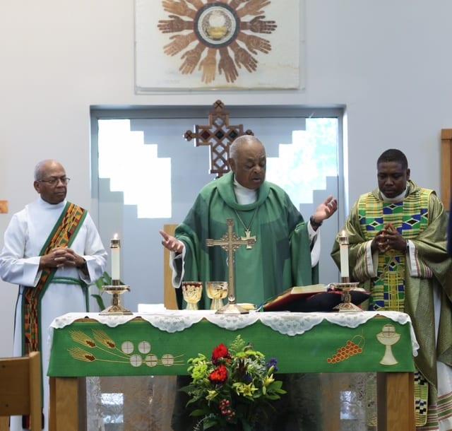 Friends & family Dedication Mass
