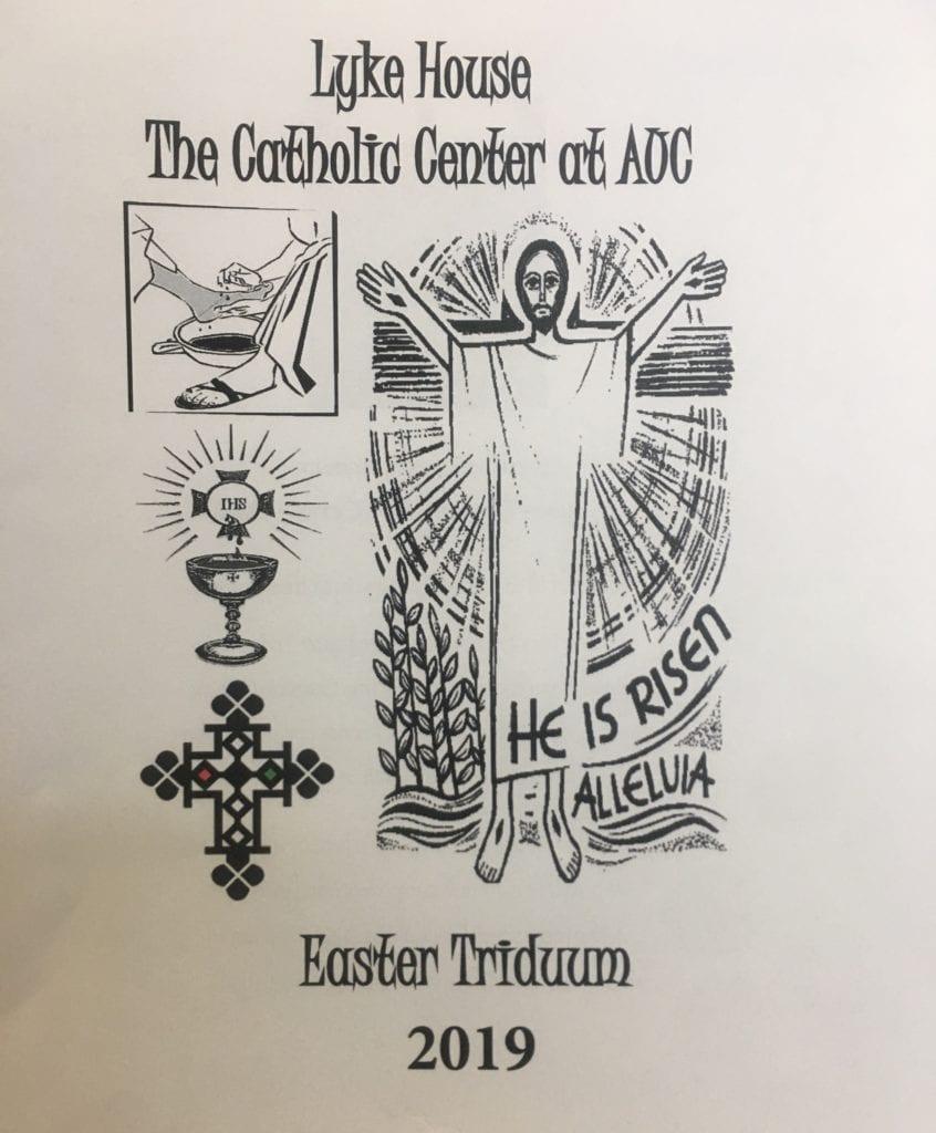 Easter Triduum at Lyke House Video