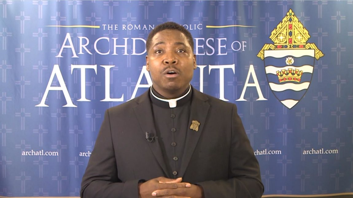 Lyke House Director-Fr. Urey Patrick Mark Speaks on Faithful Citizenship and Racism-Archdiocese of Atlanta