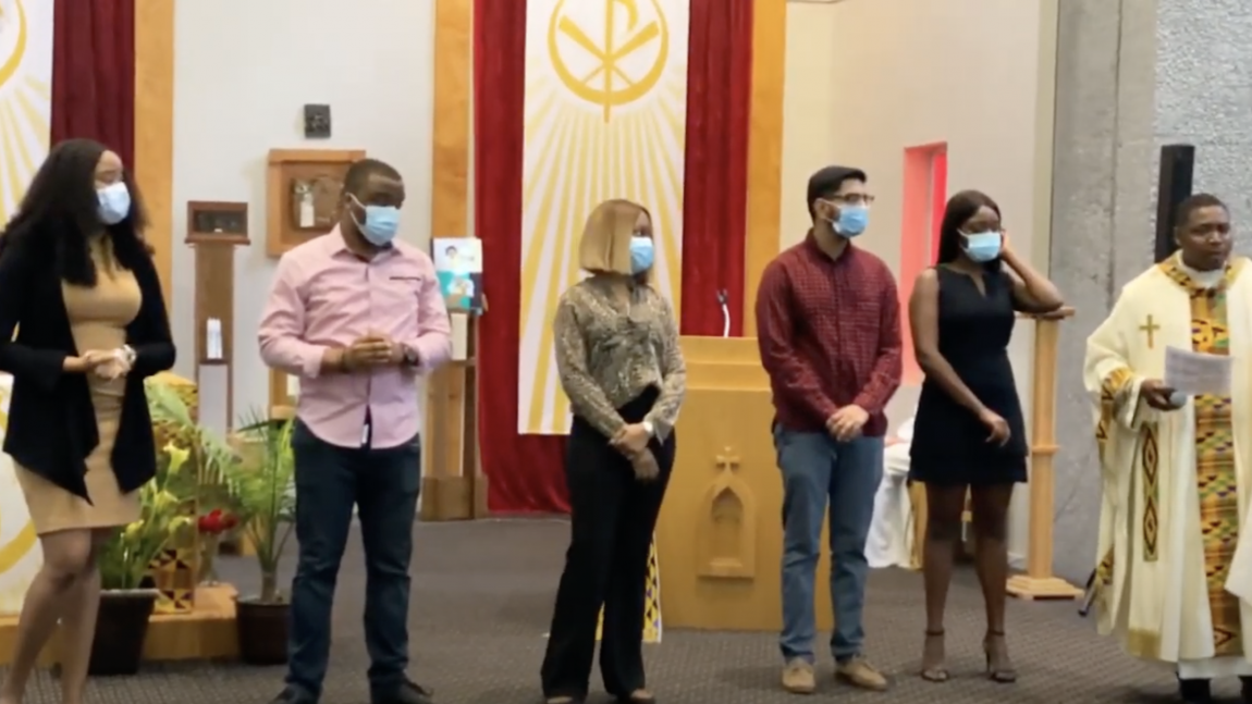 Fr. Mark's Homily-Message to the Lyke House Catholic Newman Center 2021 Graduates